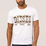 Esfuerzo de torsión diesel y humo del poder camiseta