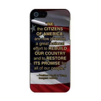 ESFUERZO DEL NACIONAL PRES45 FUNDA PARA iPhone 5 INCIPIO FEATHER SHINE