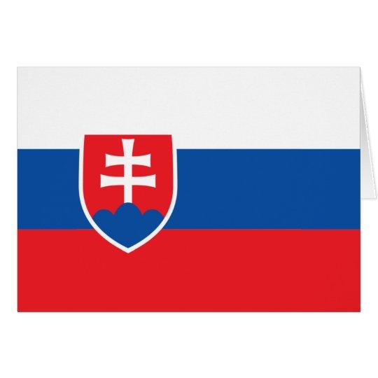 Eslovaquia Tarjeta De Felicitación