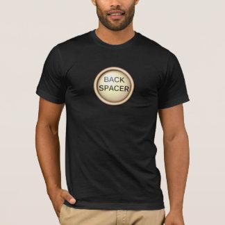 Espaciador trasero - mecanografíe las llaves camiseta