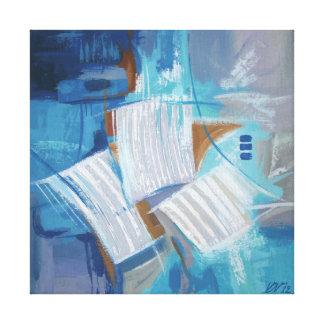Espacio abstracto impresión en lienzo