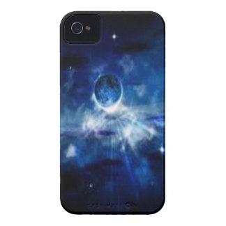 espacio azul iPhone 4 Case-Mate funda
