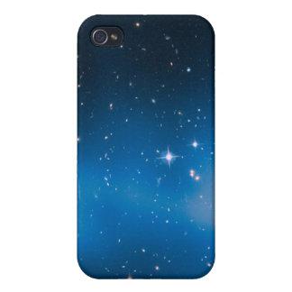 espacio azul iPhone 4/4S funda