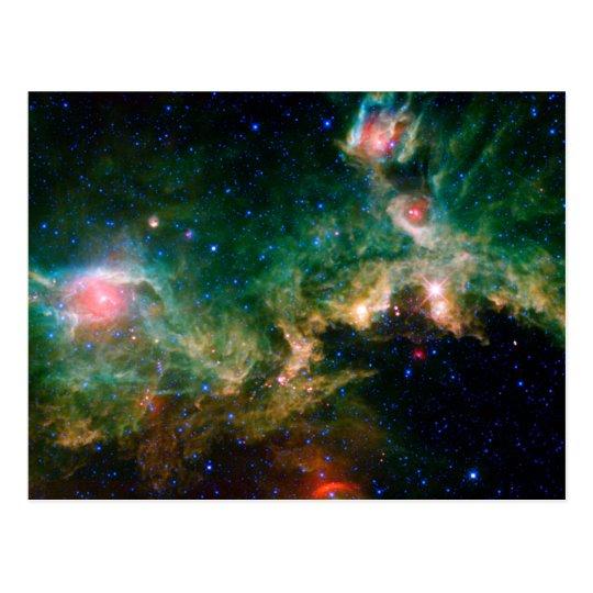 Espacio de la NASA de la nebulosa de la gaviota Postal