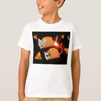 Espacio de los gatos del Taco Camiseta