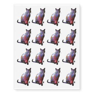 """Espacio de """"Nova"""" en gato Tatuajes Temporales"""