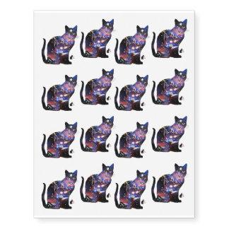 """Espacio del """"zodiaco"""" en gato tatuajes temporales"""