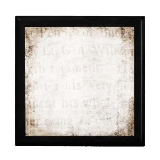 Espacio en blanco de la plantilla del documento de cajas de regalo