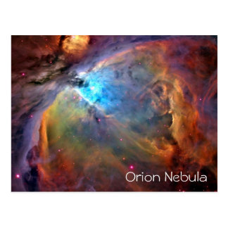 Espacio en blanco de la postal de la nebulosa de