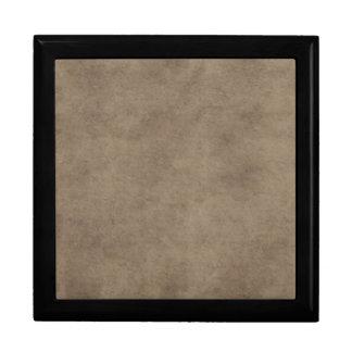 Espacio en blanco de papel de la plantilla del caja de joyas