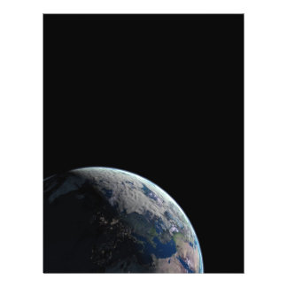 ESPACIO EUROPA de la TIERRA del PLANETA Europe-at- Folleto 21,6 X 28 Cm