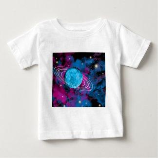 Espacio exterior camiseta para bebé