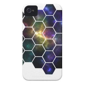 espacio geométrico carcasa para iPhone 4 de Case-Mate