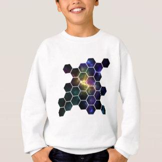 espacio geométrico sudadera