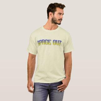Espacio hacia fuera camiseta