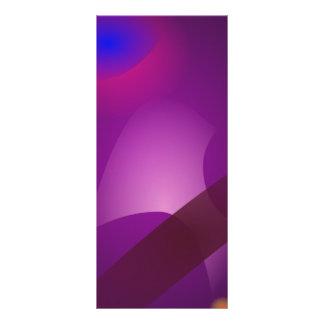 Espacio púrpura oscuro plantilla de lona