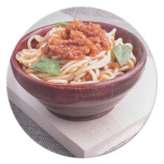 Platos espaguetis for Plato de espaguetis