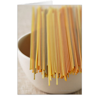 Espaguetis Tarjeta De Felicitación