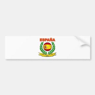 España Campeón del Mundo 2010 - d11 Etiqueta De Parachoque