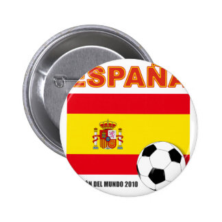 España Campeón del Mundo Chapa Redonda 5 Cm