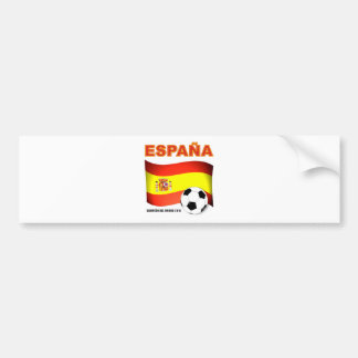 España Campeón del Mundo Sudáfrica 2010 Pegatina Para Coche