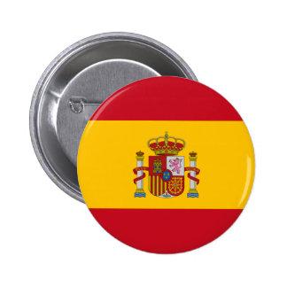 España Chapa Redonda De 5 Cm