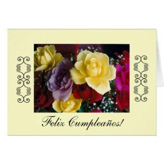 Español: Cumpleaños/Cumpleaños #1 Tarjeta De Felicitación