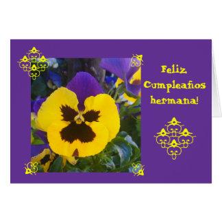 Español: ¡Cumpleaños! Cumpleaños Tarjeta De Felicitación