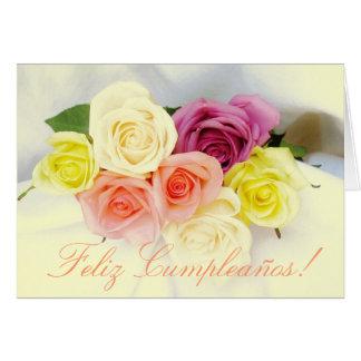 Español: Cumpleaños Cumpleanos Tarjeta De Felicitación