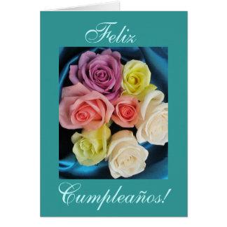 Español: Cumpleaños de Cumpleanos - trullo Tarjeta De Felicitación