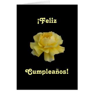 Español: Cumpleaños de Feliz Cumpleaños- Tarjeta De Felicitación