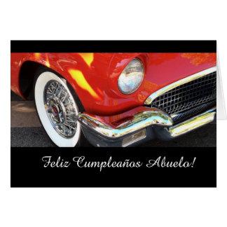 Español: El cumpleaños del abuelo de Cumpleanos Tarjetas