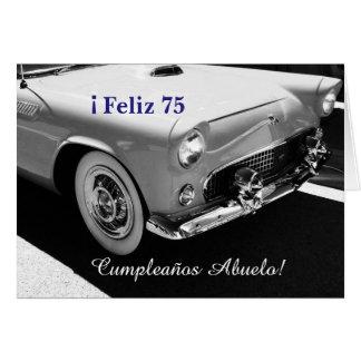Español: El cumpleaños del abuelo de Cumpleanos Tarjeta De Felicitación