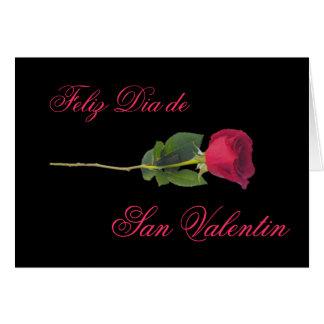 Español: el día de las rosa-Tarjetas del día de Tarjeta De Felicitación