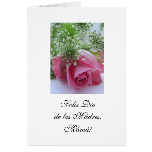 Español: El día de madre de mejor madre del mundo/ Felicitaciones