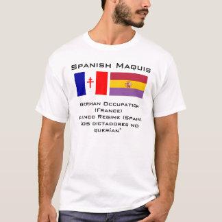 Español Maquis Camiseta