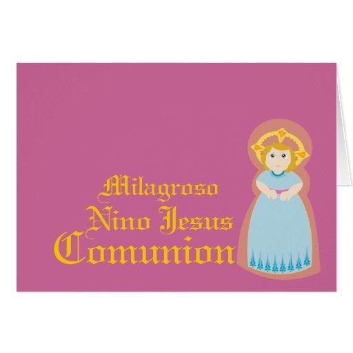 """Español-Personalizar milagroso de """" Comunion"""" - Felicitaciones"""