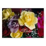 Español: Rosas Dia de la Madre del día de madre Felicitación