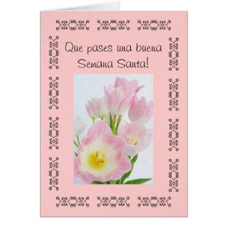 Español: Semana Santa/Pascua/Pascua #2 Tarjeta De Felicitación