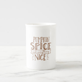 especia y todo de la calabaza taza agradable