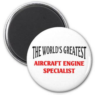 Especialista del motor de avión imanes de nevera