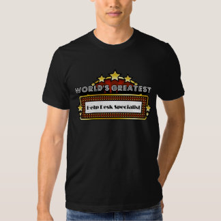 Especialista del puesto de las informaciones más camisetas