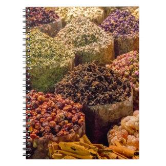 Especias del cuaderno de Oriente Medio
