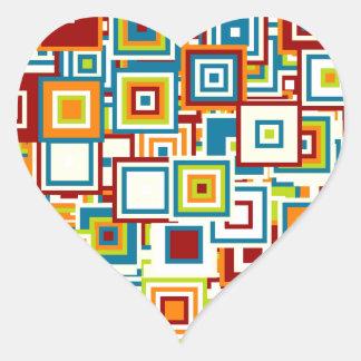 Especie de pop pegatina en forma de corazón