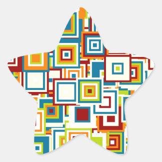 Especie de pop pegatina en forma de estrella