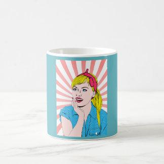 Especie de pop taza