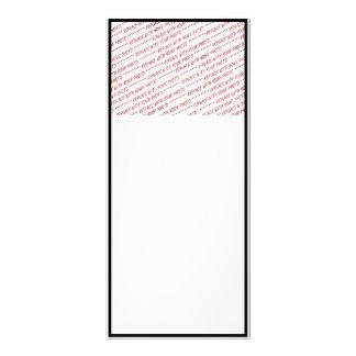 Específico del tamaño - para el uso con la foto diseño de tarjeta publicitaria