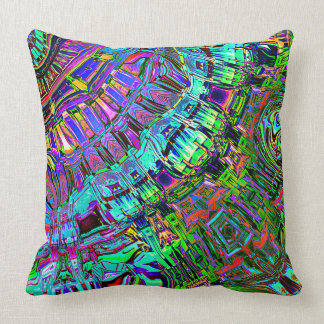Espectro abstracto de formas cojín decorativo