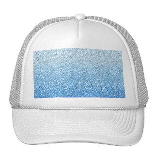 Espectro azul reluciente de Ombre Gorro