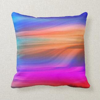 Espectro colorido cojín decorativo